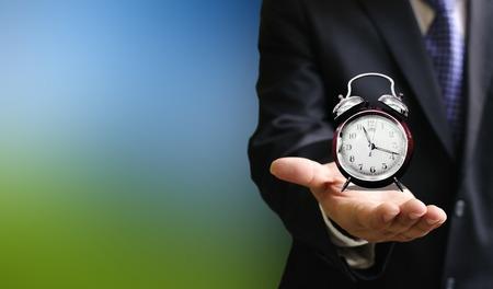 gente corriendo: Se acaba el tiempo concepto