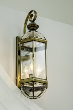 pinchbeck: Decorate lamp fix on wall