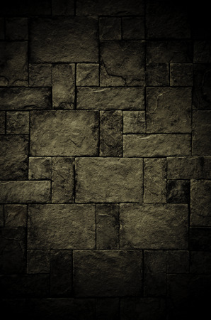 scare: Stone tile wall pattern , Grung background in scare concept