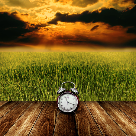 nice weather: Time to rest from agriculture field