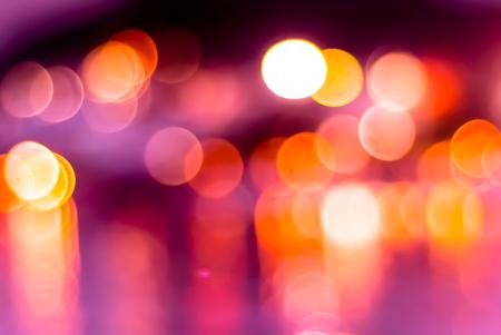 Nice abstract colorful bokeh light at night Stock Photo