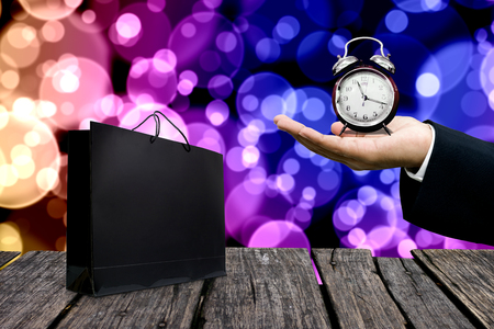 Special offer for shopping time concept Stock Photo