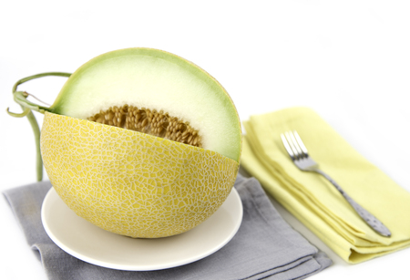 Melon fruit ready for eat, Galia melon fruit