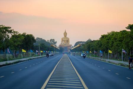 Big buddha at Singburi Thailand