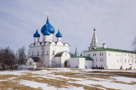 Cathedral in Suzdal, Golden Ring, Russia