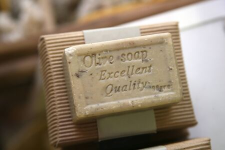 natural solid soap with olive oil