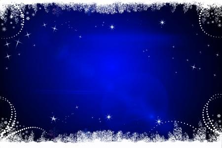 dark blue christmas background stock photo 15142867 - Blue Christmas Background