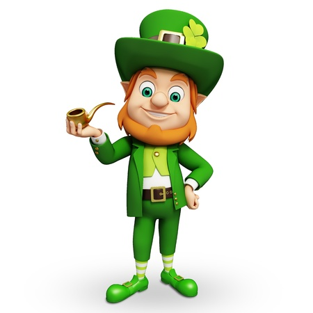 st  patrick   s: Leprechaun for st  patrick s day