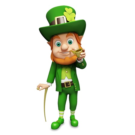 st patrick s day: Leprechaun for st  patrick s day