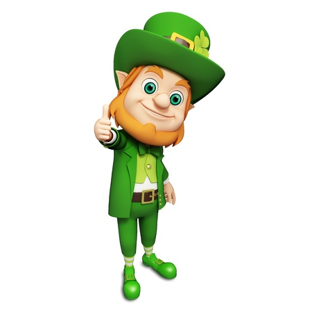 Leprechaun for st  patrick s day photo