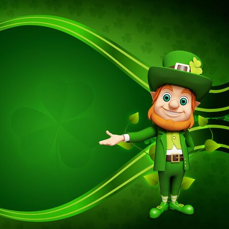Leprechaun for st patrick day Stock Photo - 19283982