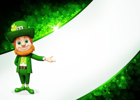 Leprechaun for st   patrick s day
