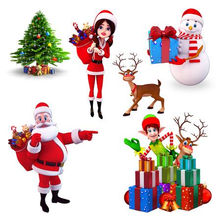 elves: Christmas element
