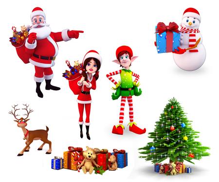 Kerstmis element