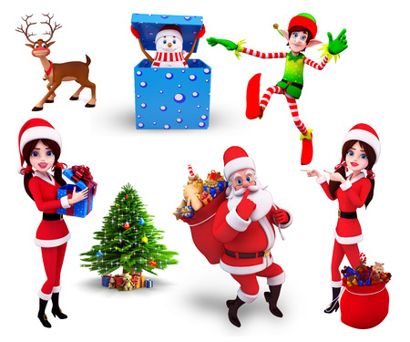クリスマス デザインの設定