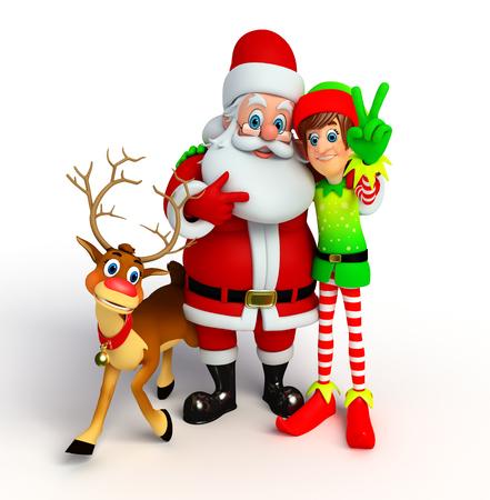 blue santa: christmas collection