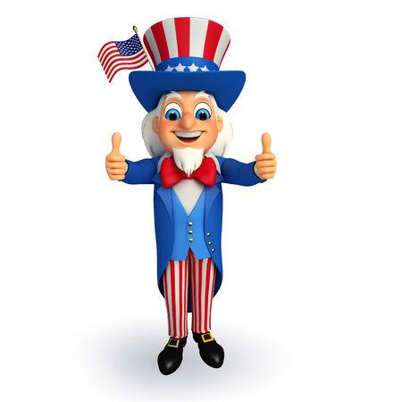 Uncle Sam: Illustration of Uncle Sam