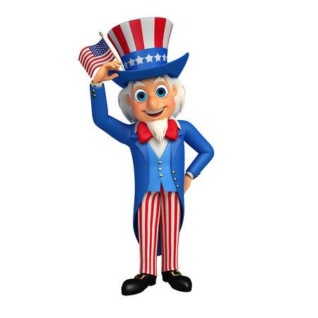 sam: Illustration of Uncle Sam