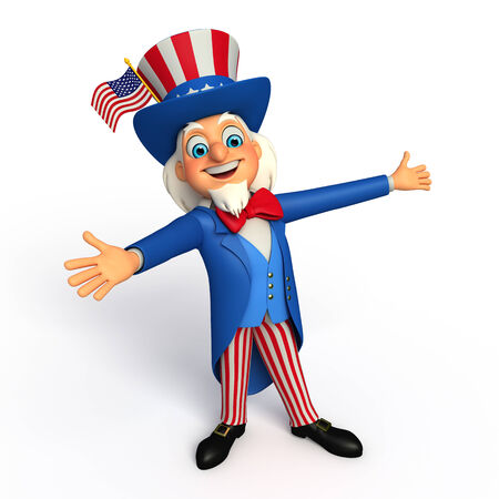 sam: Illustration of Uncle Sam