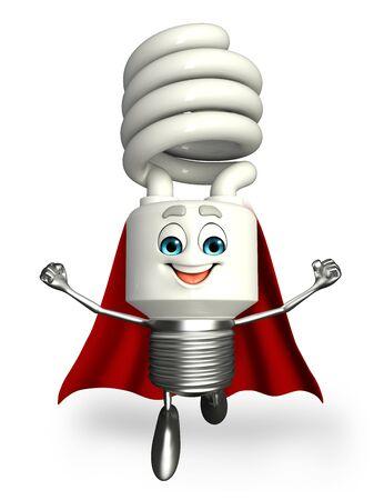 Cartoon Character of Super CFL