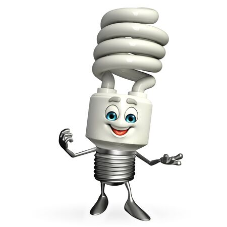 Cartoon Character of CFL is presenting photo