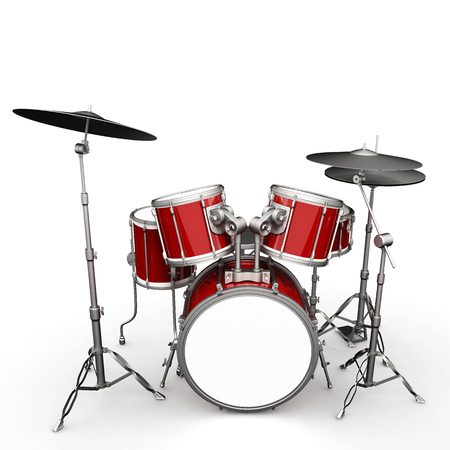 drumset: Drumset Stock Photo