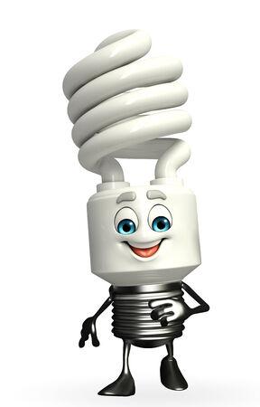 Cartoon Character of CFL is walking photo
