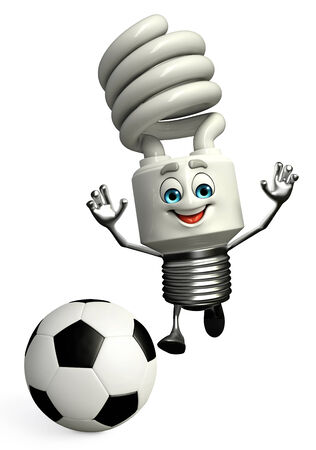 cfl: Cartoon Character of CFL with football