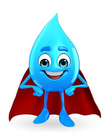 超水滴の漫画のキャラクター
