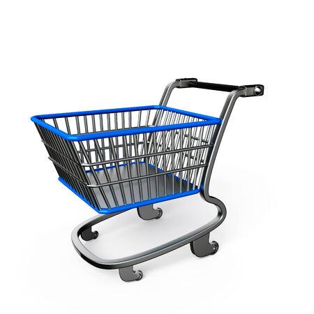 Illustration ofShopping trolley illustration