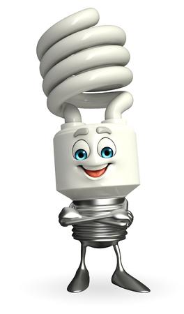 CFL の漫画の文字は手を組んでください。 写真素材 - 32460076