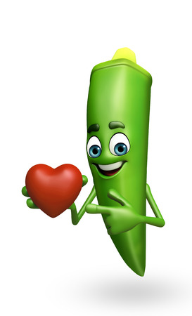 exotic woman: 3d rendered illustration of ladyfinger cartoon character