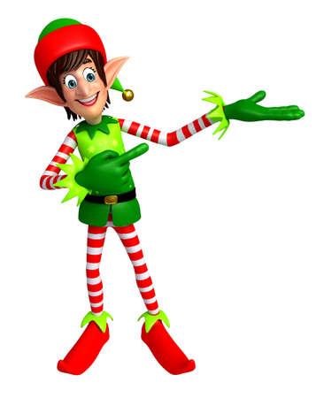 elves: 3d rendered illustration of elves