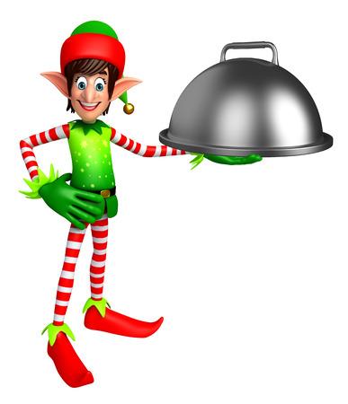 elves: 3d rendered illustration of elves with pan