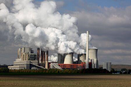 kohle: Kraftwerk Lizenzfreie Bilder