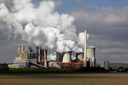 COAL: power station Stock Photo