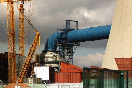 power station Stock Photo