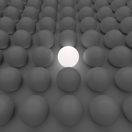ball light glowing Stock Photo - 18984534