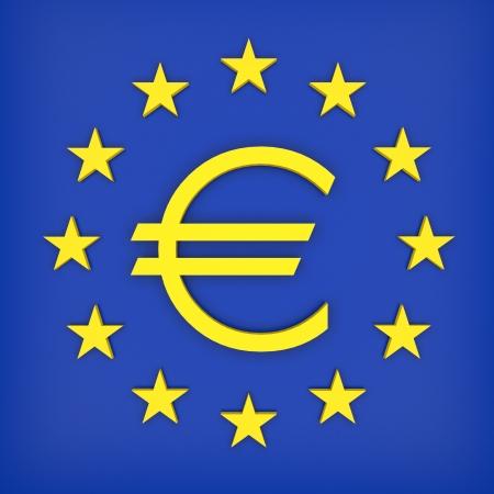 euro europe Reklamní fotografie