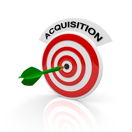 acquisition: acquisition word on dart target board