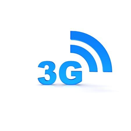 3G network Reklamní fotografie
