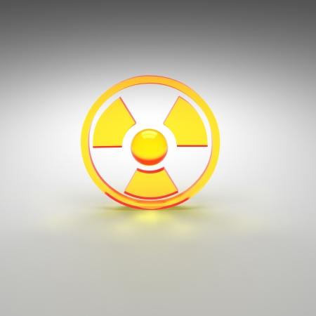 nuke: radioactive Stock Photo