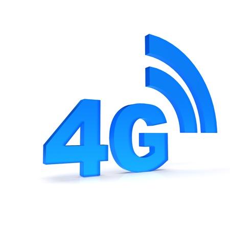 4G icon Reklamní fotografie