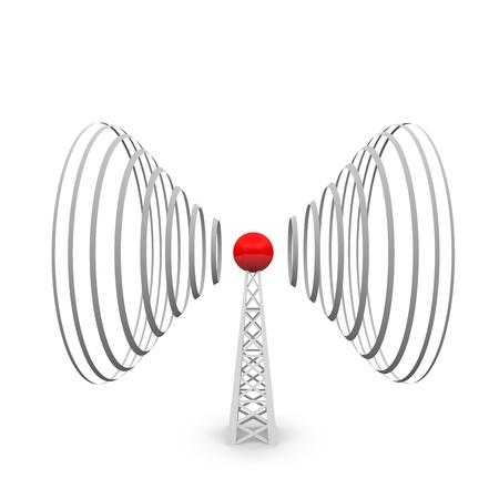 telephone mast: radio tower