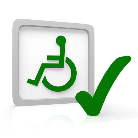 wheelchair Reklamní fotografie