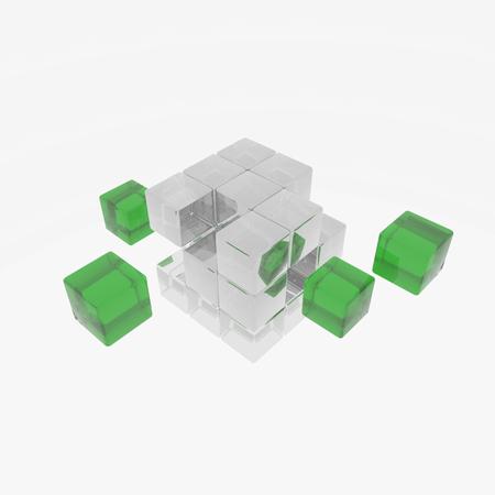 cube Reklamní fotografie