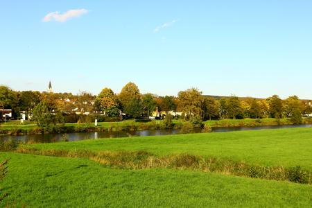The Ruhr near Wickede an der Ruhr