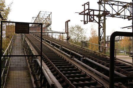 Conveyor belts in the Landschaftspark Duisburg-Nord