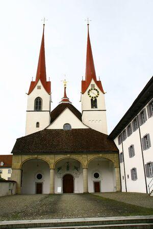 Monastery church of Muri Monastery in Switzerland