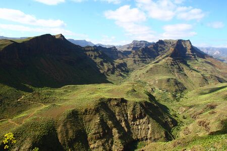 In the mountains on Gran Canaria
